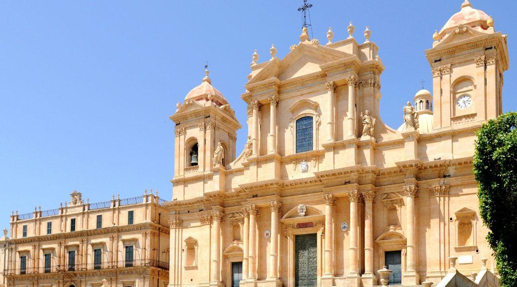 sicily baroque Ragusa Noto area